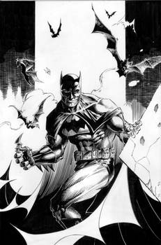 Batman - There You Are - inks