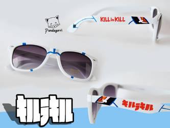Kill la Kill Junketsu sunglasses by Pandagorri