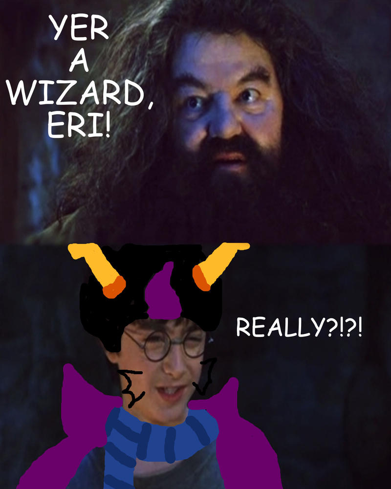 Yer A Wizard Eri by Aura-Cat