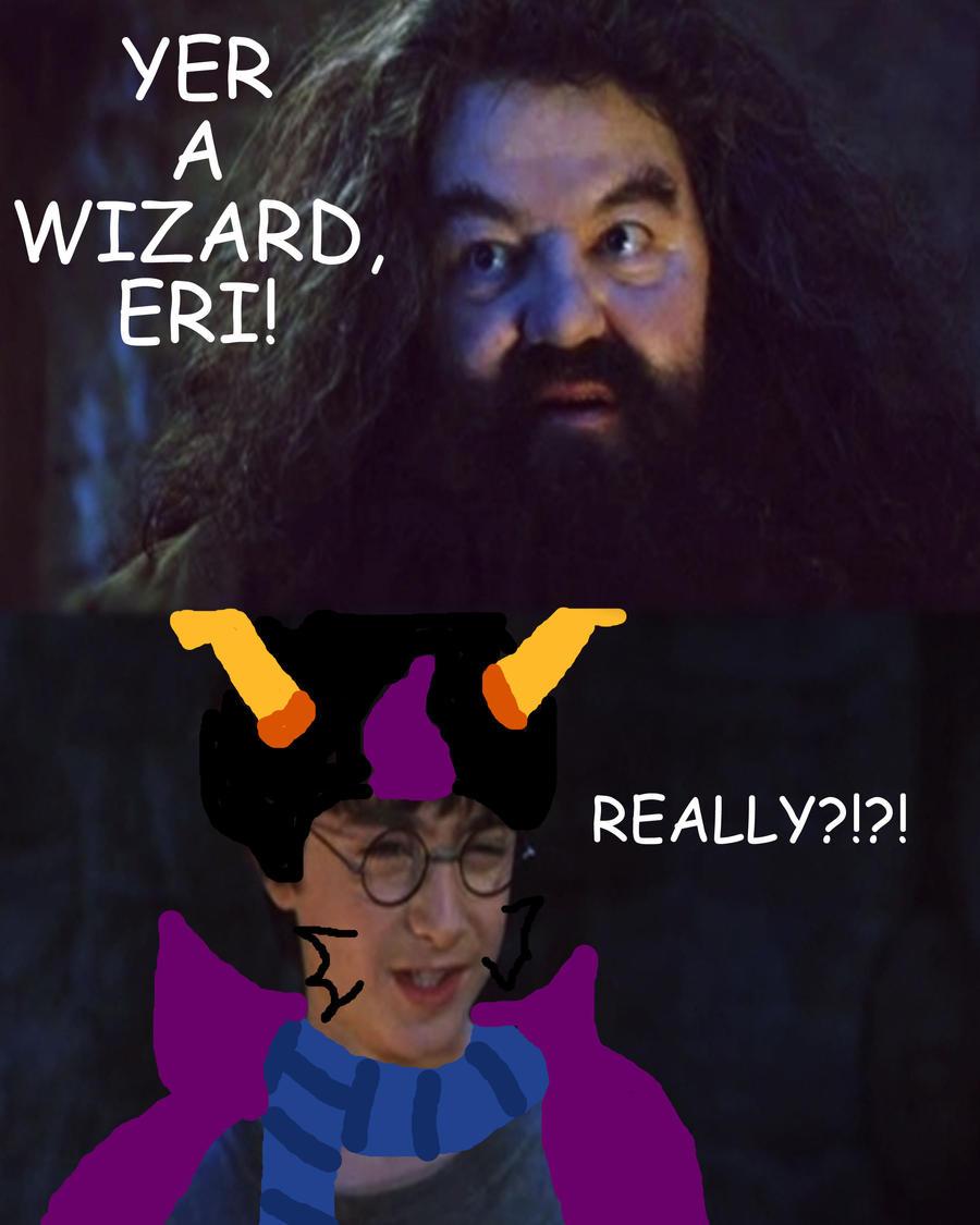 Yer A Wizard Eri by Aura-Cat