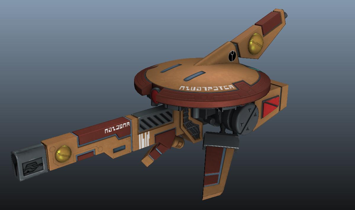 Tau Sniper Drone WIP by Bauken
