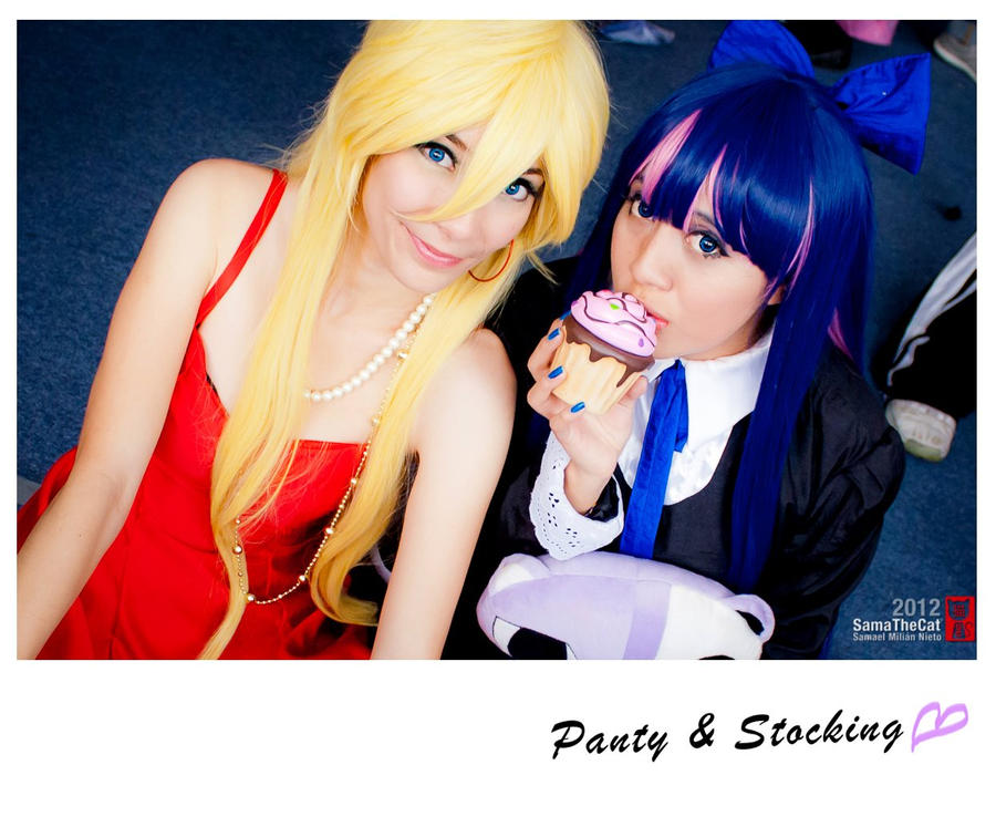 Panty and Stocking by HaruhiK