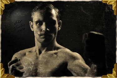 Eliot Truelove - Bare Knuckle Boxer Close up