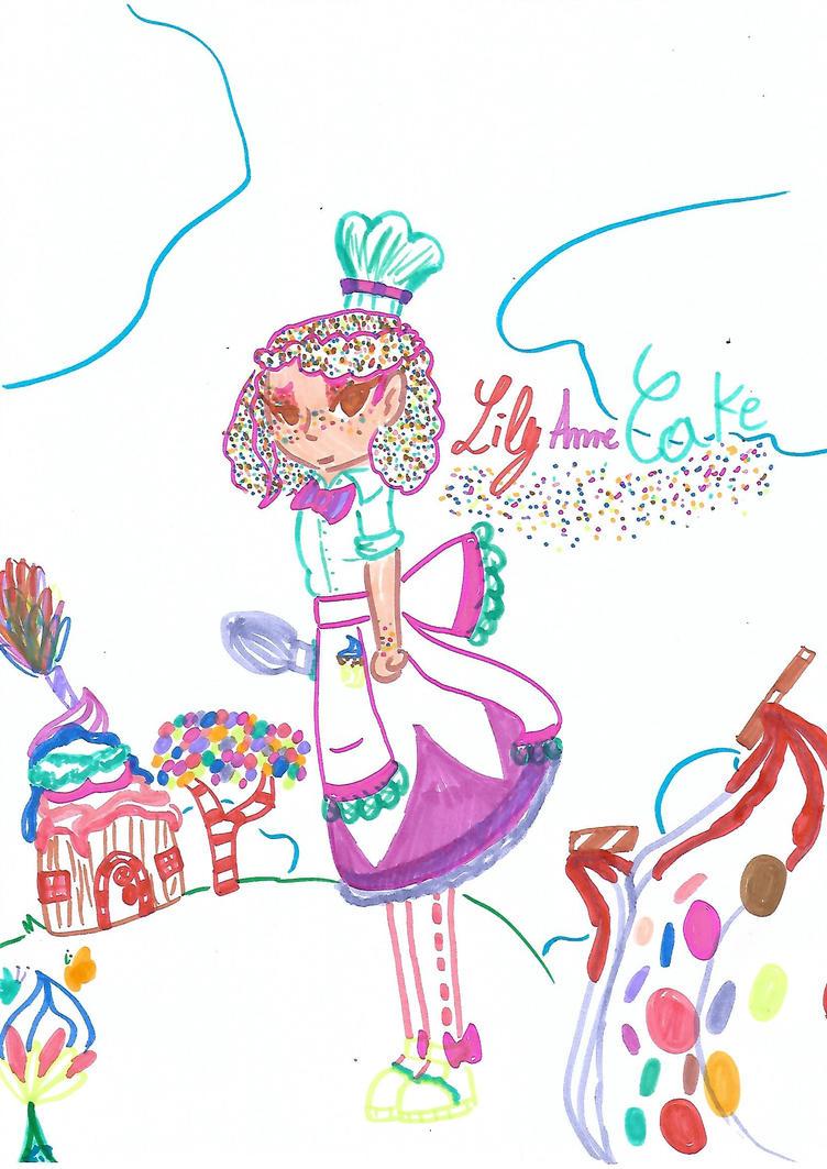 Lily Anne Cake by nekogeek21