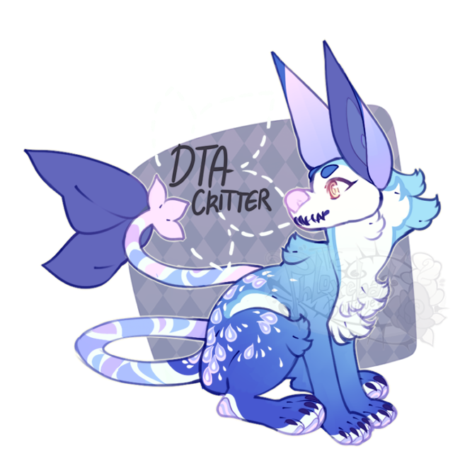 {DTA} - Draped in blue (CLOSED) by PhloxeButt