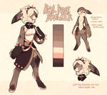 [Pawction] Pearl Rose Brawler (~24 hours) by PhloxeButt