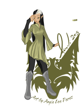 Casual Tunic and Boots - Snow/Woodland Elf