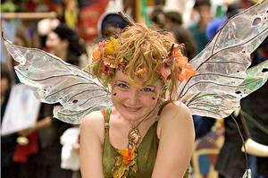 Blushing fairy by atistatplay
