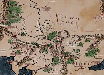 Middle-earth: Fourth Age - Gondor, Rohan, Nurn by berenwasteland