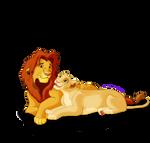 .:: Simba and Nala ::.