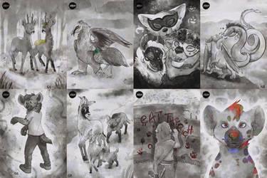 Inktober - Furry Art