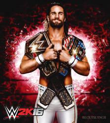 WWE Superstar Seth Rollins 2k16 Custom Render by Beckyslynch