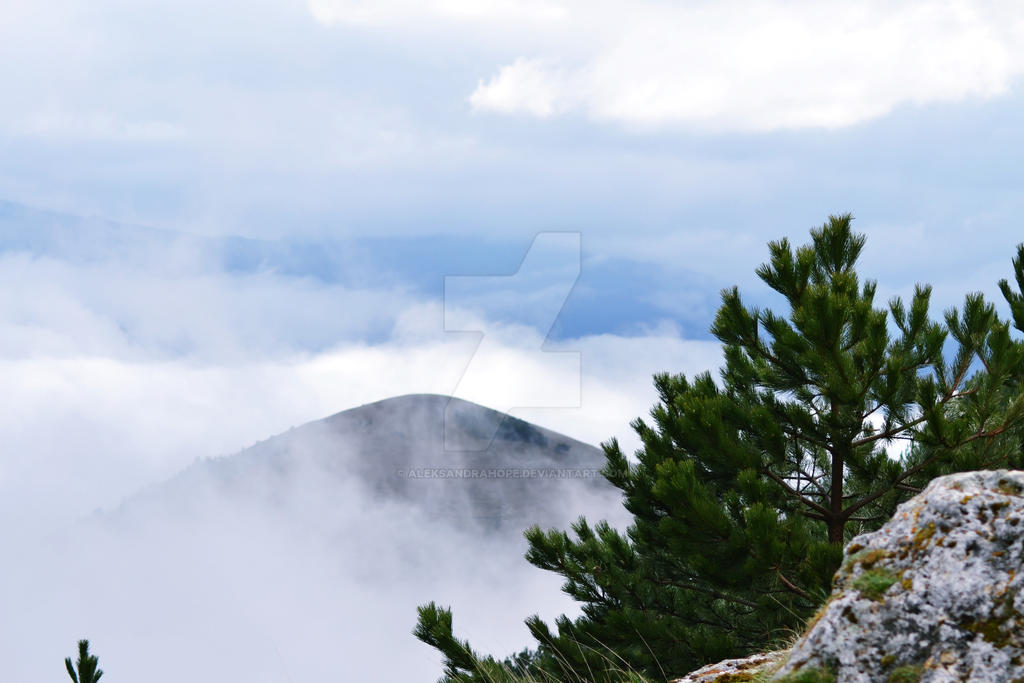 Sopra le nuvole. by AleksandraHope