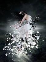 Breaking into butterflies by elizarosca