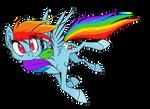 shitty Rainbow Dash doodle