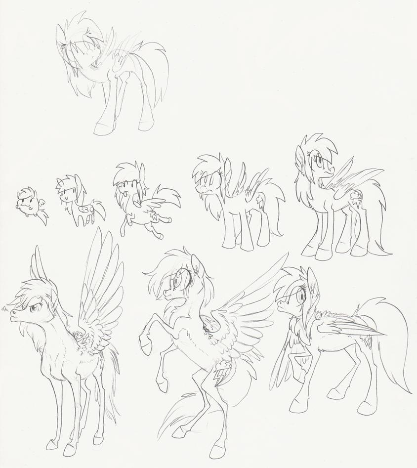 Ponystyles by 8-Xenon-8