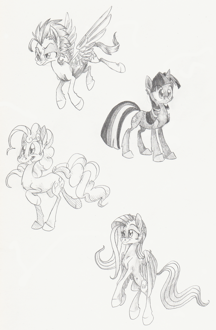 Pencil shading by 8-Xenon-8