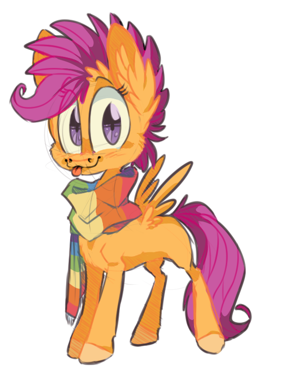 Scootascarf by 8-Xenon-8