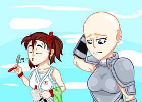 Request:Bald Janne. by JPGR00