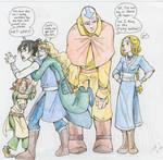 Artemis Fowl Avatar crossover