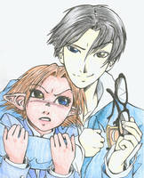 Artemis Ouran crossover by iesnoth
