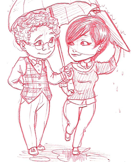 Archie and Mary Margaret by iesnoth
