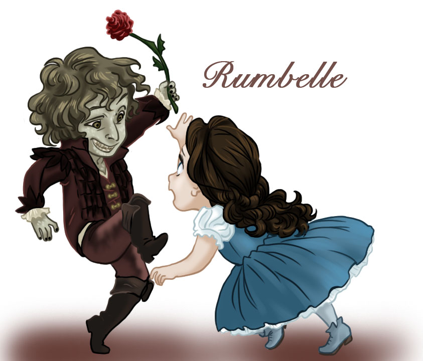 Le Rumbelle - Page 38 Rumbelle_chibis_by_iesnoth-d4ve14x
