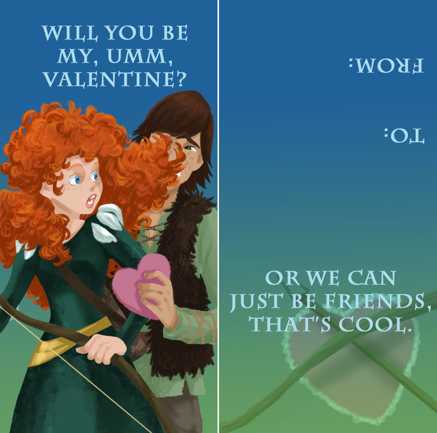 Mericcup Valentine by iesnoth