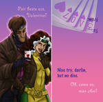 Rogue and Gambit Valentine