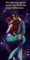 Ariel and Jim in space Valentine