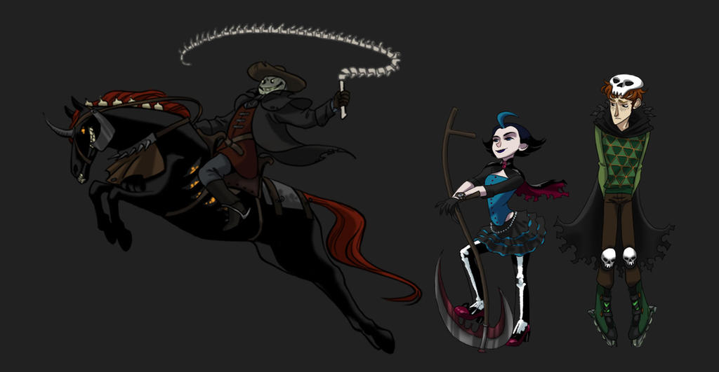Reaper Characters by iesnoth