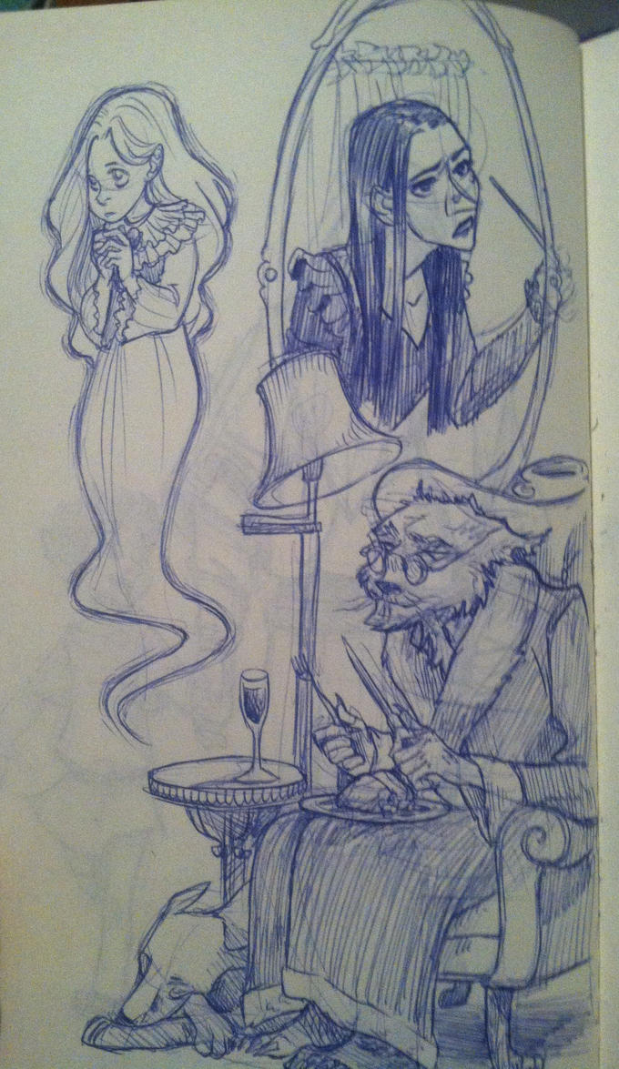 Late Halloween sketches by iesnoth
