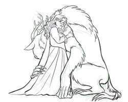 Beauty with her Beast