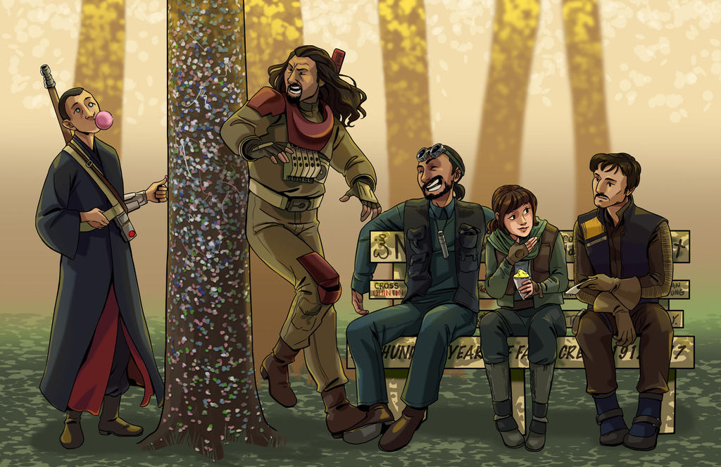 Rogue One at Church Camp by iesnoth