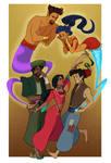 Grimmwoods commission: Aladdin