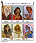 Six Bible Fanarts