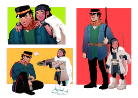 Golden Kamuy by Muchinery