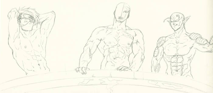 SKETCH Kimi's guys shirtless 2016 by SCINTILLANT-mature-H