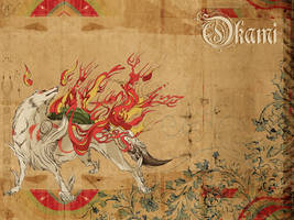 Okami Wallpaper by elytSoN