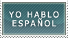 Stamp - I speak spanish by elytSoN