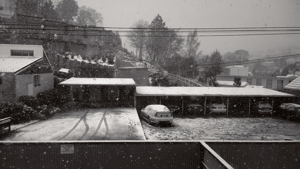 Snow at my house 2 by imperidal