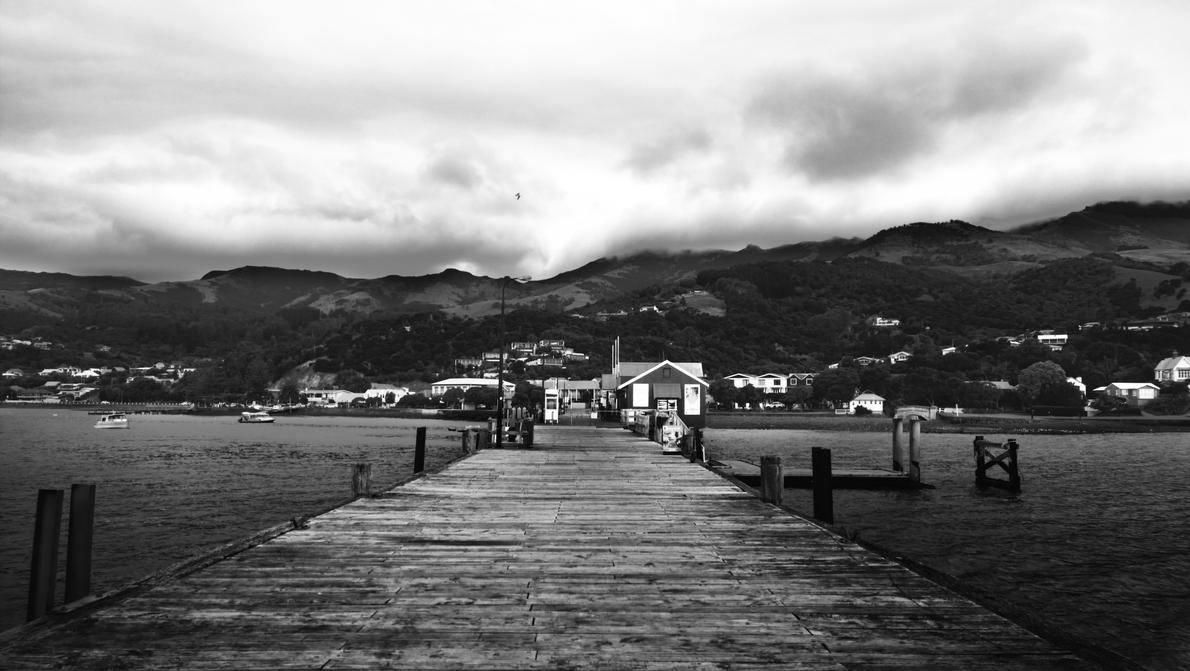 Akaroa Harbour by imperidal