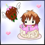 Happy B-day Judai by blue-sky-girl