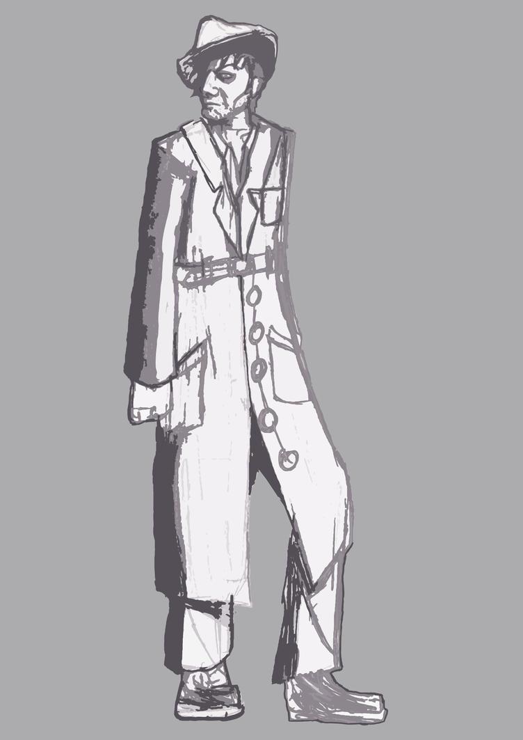 Corrupt Detectiv Artrade by NamelessObsidian22