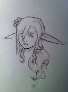 axelle sketch- The Damage is Done!
