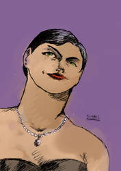 Selina Kyle Colored by Michael-McDonnell