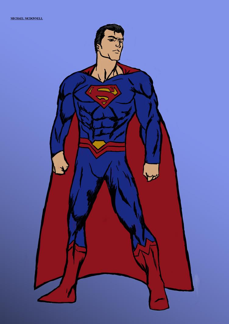 Superman Reborn by Michael-McDonnell