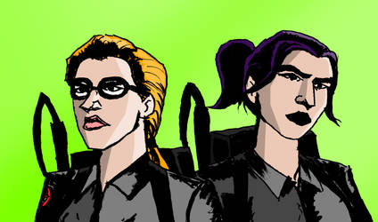 Women Ghostbusters by Michael-McDonnell