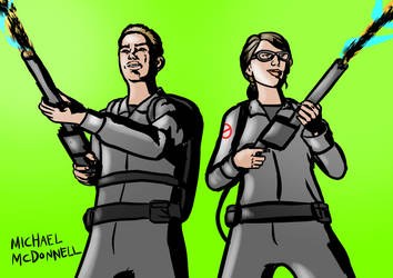 New Ghostbusters II by Michael-McDonnell