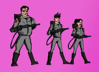 Teen Ghostbusters And Ray Stanz by Michael-McDonnell